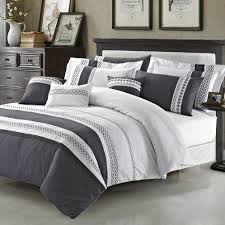 simple black and white duvet covers queen pct cotton material