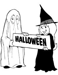 Kinderpleinen Halloween Pompoenen Kleurplaten