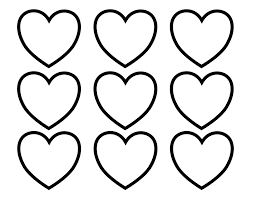 Kleurplaat Hartjes 8 Topkleurplaatnl Knutsel Ideeën Heart
