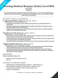 Recent Graduate Resume Objective Template New Nursing School