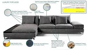 sanborg corner sofa brown grey