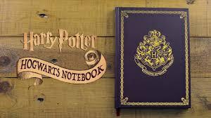 harry potter hogwarts notebook paladone