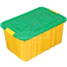Ящик для <b>игрушек</b> Полимербыт 301, цвет в ассортименте ...