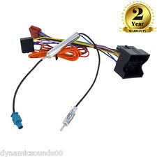 save use a universal wiring harness on your project stereo cd radio wiring harness aerial adaptor for vauxhall corsa c cc20 cd30
