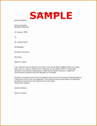 Format Of Resignation Letter Of Employee New Sample Leave Absence ...