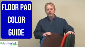 Floor Pads Color Choices And Care
