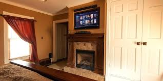 how to mount a tv above fireplace pull down for aeon 50300 when over
