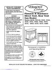 vermont castings pdv20 series manuals vermont castings pdv20 series homeowner s installation and operating manual