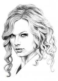 Small Picture Taylor Swift Age Coloring Coloring Pages