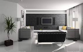 Minimalist Living Room Furniture Elegant Living Room Furniture Mirror Wall Oak Flooring Modern