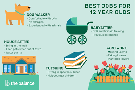 babysitting jobs for 13 5 age appropriate jobs for 12 year olds