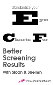 How To Use Sloan Eye Chart Are Your Eye Charts Up To Date The Evolution Of Eye Charts