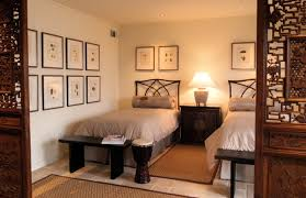 Example of an island style guest bedroom design in Atlanta