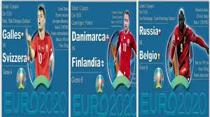 Analisi partite euro 2020 (Galles - Svizzera) (danimarca - Finlandia) ( Belgio - Russia) - YouTube