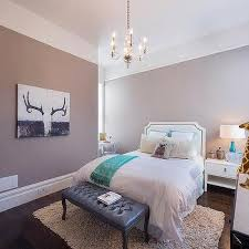 white and mauve teen girl bedroom with desk nook