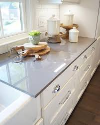 choosing grey countertops regarding white kitchen gray countertop plan 36