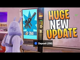 How To Glitch A Vending Machine Inspiration New Glitch Weapon Vending Machine Update Replacing Loot Chests
