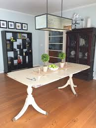 how to paint a duncan phyfe dining table