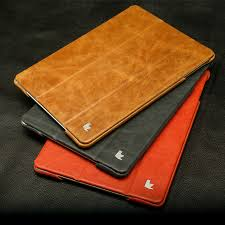jisoncase flip cases for ipad air 1 ipad air 2 smart cover luxury genuine leather holder for ipad air 5 6 skin for ipad 9 7 2017 in tablets e books case