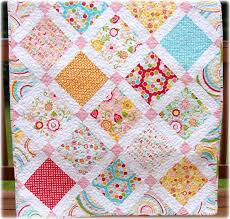 25+ unique Crib quilt size ideas on Pinterest   Baby quilt ... & Baby Girl Quilt Simply Sweet Adamdwight.com