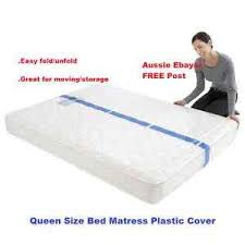 mattress storage bag. image is loading queen-size-bed-mattress-protector-plastic-protection-cover- mattress storage bag u