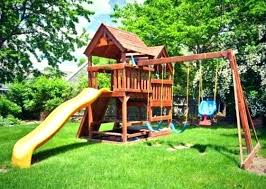 full size of outdoor slides toddlers playsets s with installation plastic waste backyard decorating