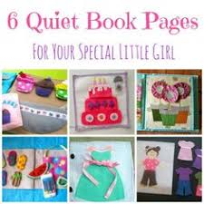6 quiet book pages for little s