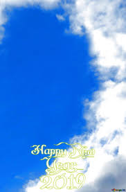 free image license cc by 4 0 free image happy new year 2019 sky clouds frame