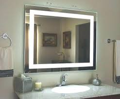 wall mounted lighted magnifying mirror wall mounted lighted vanity mirror led with regard to makeup