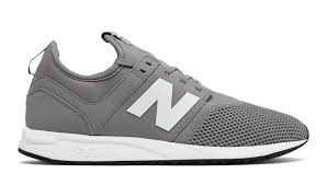 new balance. nb 247 classic, grey with white new balance