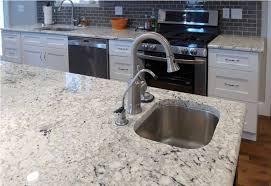 image of bianco romano granite countertops