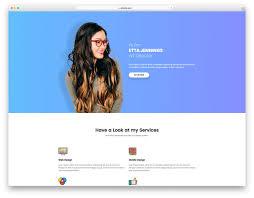 Resume Website Template Free Gallery Of Personal Website Resume Free