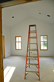 farmhouse renovation update drywall and priming