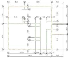 autocad architecture walls ready layout metric
