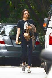 To Los Angeles Gym The Irina Shayk In Heading