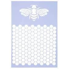 honeycomb stencil hobby lobby