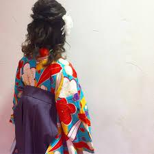 2019年卒業式ヘア袴華やかハーフアップで後ろ姿美人に Arine アリネ