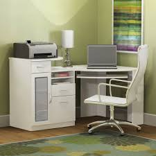 small white corner office. Home Engaging Small White Corner Desk 7 Office Furniture Splendid Design Ideas Using Rectangular Leather Swivel