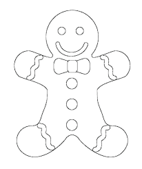 Gingerbread Man Coloring Pages Gingerbread Man Pictures To Color