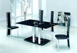 small glass dining room sets large chrome clear glass dining table furniture primary glass dining table
