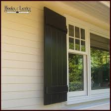 black exterior shutters. Fine Exterior Board And Batten Exterior Shutters Click To Enlarge With Black H