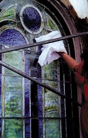 cleaning and maintenance of leaded glass windows
