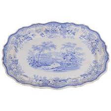 o3292 english blue and white dish barker furniture