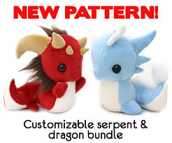 Dragon Plush Pattern
