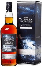 in the photo image talisker dark storm gift box 1 l