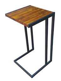 design 59 inc acacia hardwood c table end table laptop stand no embly