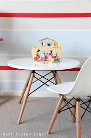 charles ray furniture. Childrens Charles Ray Eames Style Dowel Round Table - White Furniture