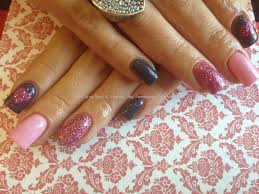 Eye Candy Nails & Training - Acrylic nails with baby pink gel ...