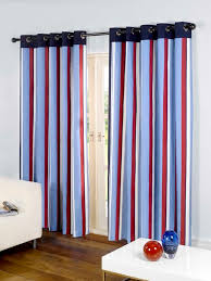 affordable padstow marine blue red eyelet curtains for your home