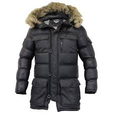Mens Parka Jacket With Fur Hood | Jackets Review & Mens Parka Jacket Brave Soul Coat Padded Quilted Hooded Puffer Fur . Adamdwight.com